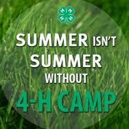 Summer 4-H Camp