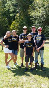 Caldwell County 4-H Archery Club members