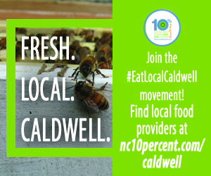 Cover photo for N.C. Cooperative Extension to Launch Eat Local Caldwell Campaign in October