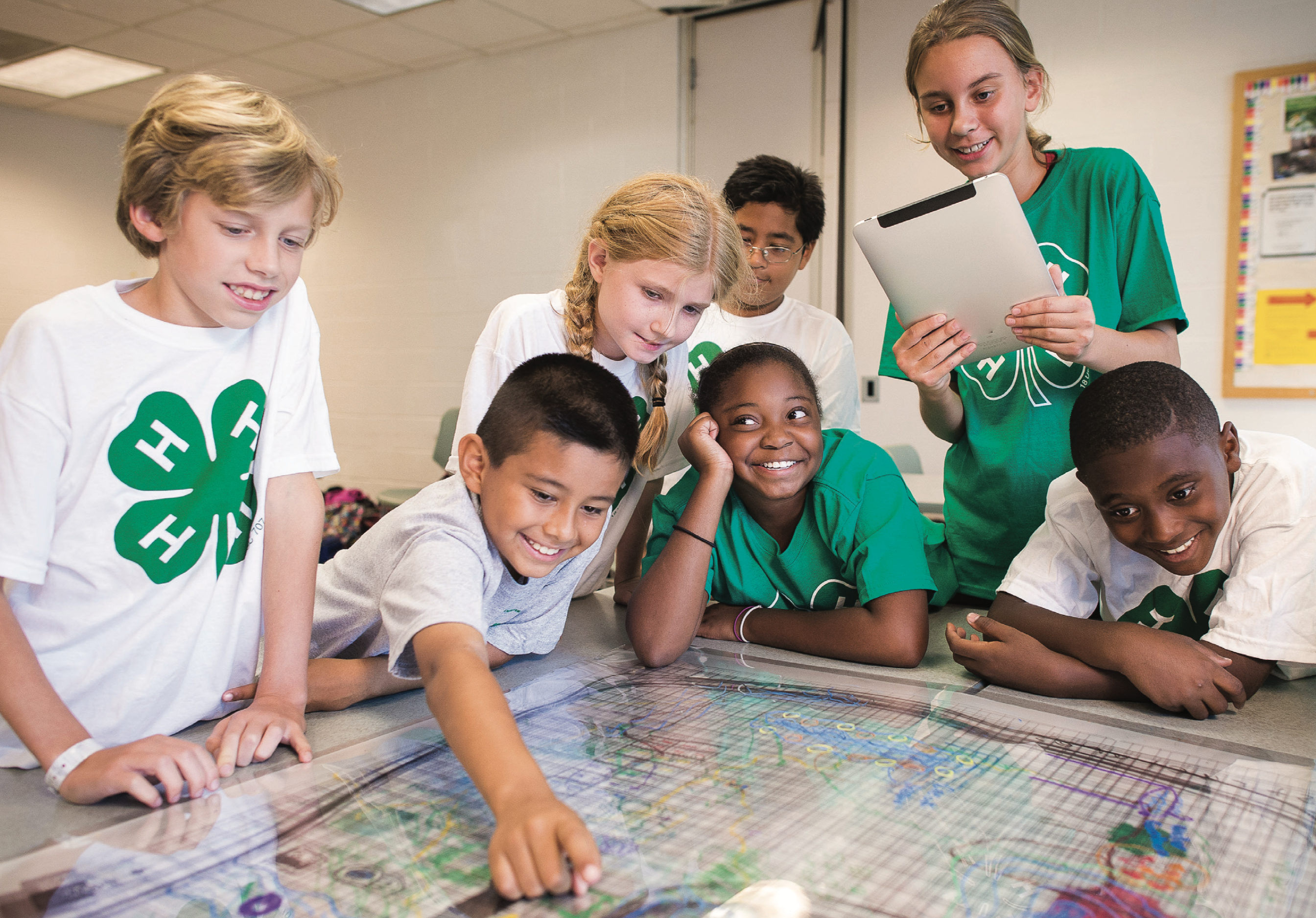 4-H stock photo of youth
