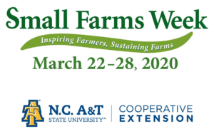 Small Farms Week graphic