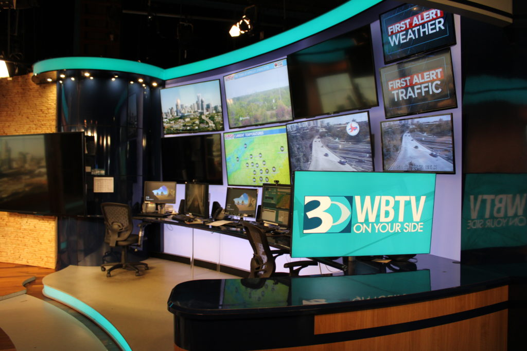 A Caldwell County 4-H Club learned about meteorology and television production careers during a tour last fall at WBTV in Charlotte.