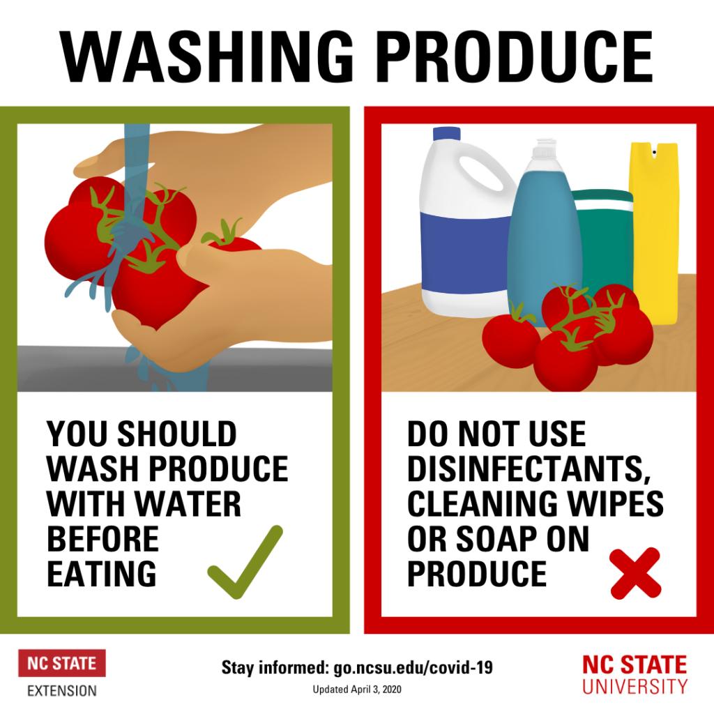Veggie Washing Infographic