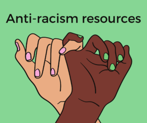 Anti-racism resources graphic