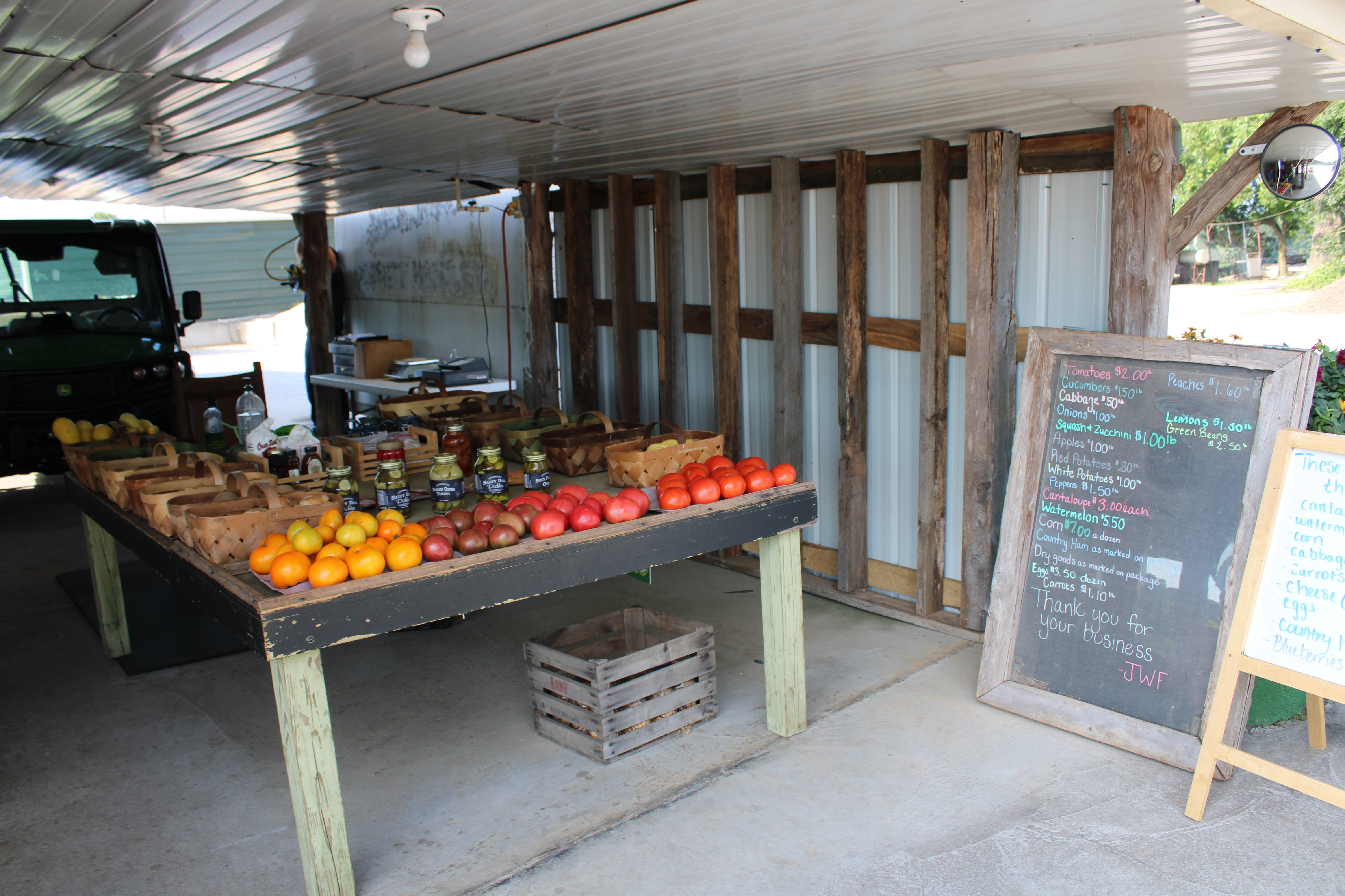 Videos and pictures, like this one from Johnny Wilson Farms, substitute for in-person farm tours with youth this summer.