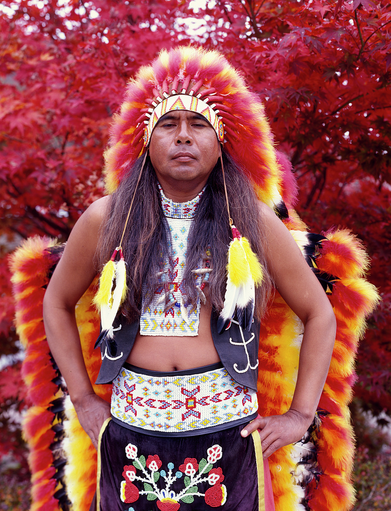 This 1980 image from the Library of Congress pictures Dennis Wolfe, a full-blooded Cherokee indian in Cherokee, North Carolina.