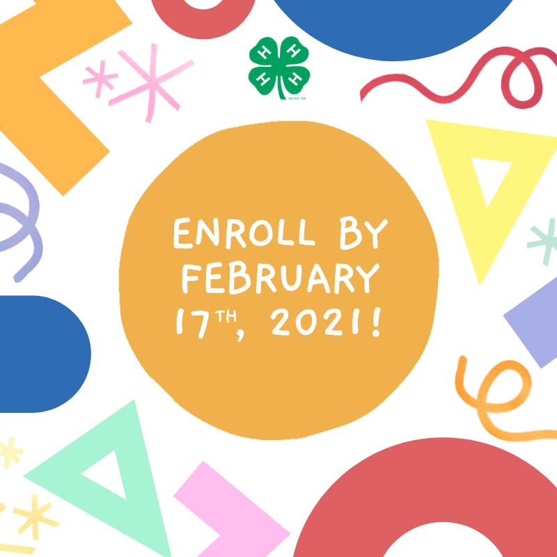 Enroll by February 17 !