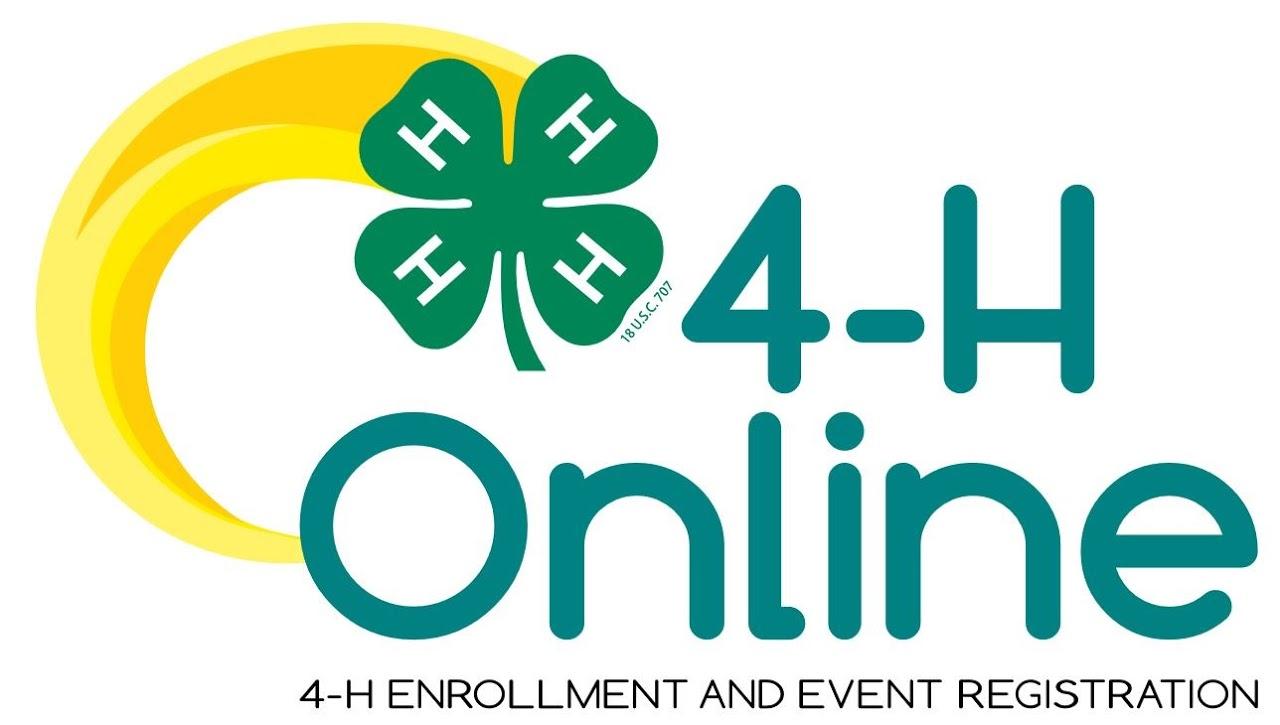 4-H Online - Enrollment and Event Registration