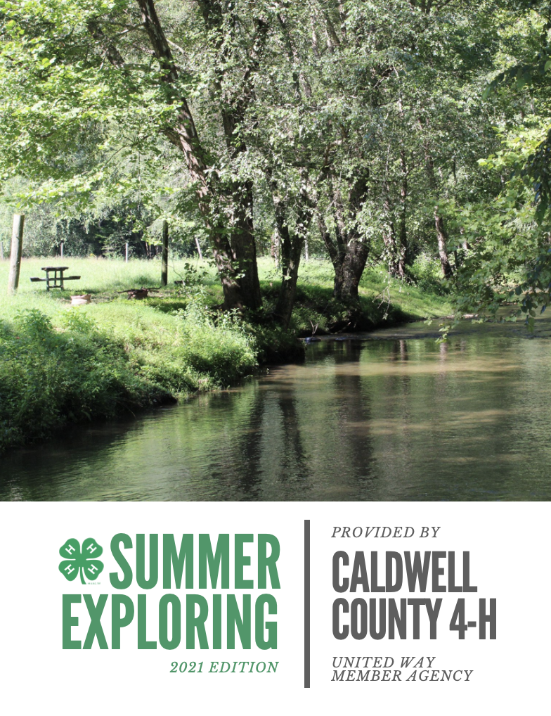 Summer Exploring with Caldwell County 4-H 2021